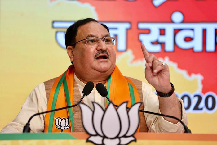 Time to remove Mamta's government with lock, stock, and barrels in Bengal: Nadda
